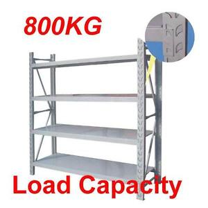 Long Span Shelving  For Garage  Warehouse 1.2 m 1.5 m 1.8m System Browns Plains Logan Area Preview