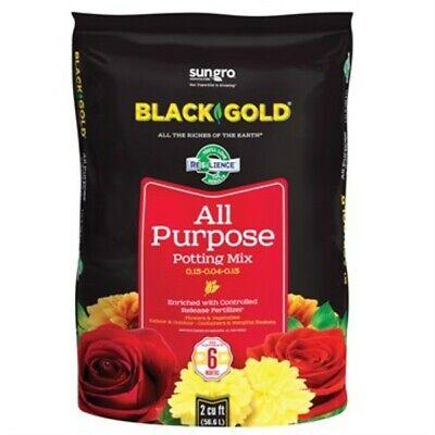 Black Gold All Purpose Potting Soil 2 Cu. Ft.