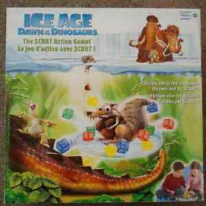 Ice Age Dawn of the Dinosaurs SCRAT Action Game!