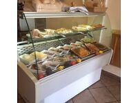 Cafe machinery for sale (including espresso machine, fridges,cooker)