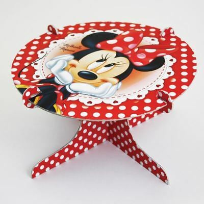 25cm Disney Minnie Mouse Red Polka Dots Party Cake - Minnie Mouse Cake Stand