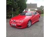 Alfa Romeo GTV Lusso twin spark 2000 plate