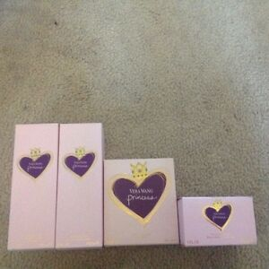 Vera Wang Princess perfume and lotion set