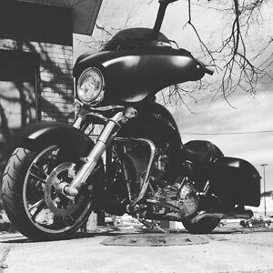 Harley Flhx 2014 bas mileage
