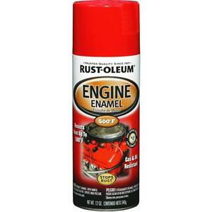 rust oleum high temp engine spray paint ford red. Black Bedroom Furniture Sets. Home Design Ideas