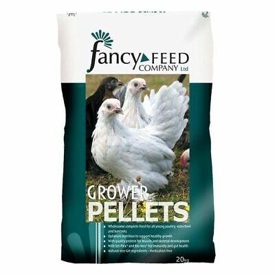 FANCY FEEDS GROWERS PELLETS CHICKEN HEN FOOD 20KG
