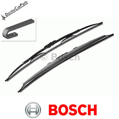 Bosch Super Plus Wiper Blades FRONT PAIR SET for LEXUS IS300h CHOICE1/2 13-on