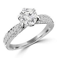 Diamond Wedding Ring 1.85CTW Bague de Marriage Frappante