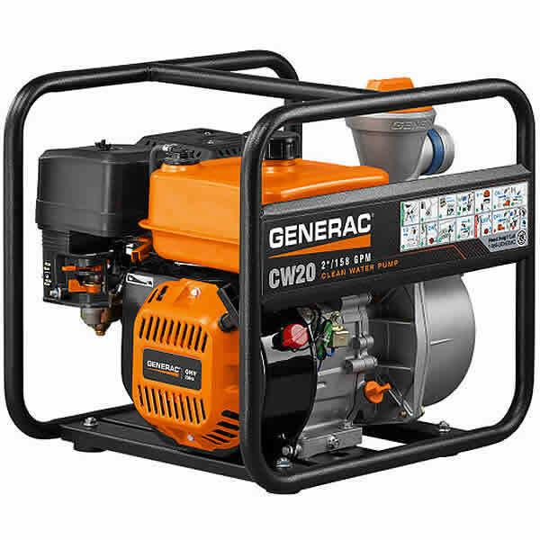 """Generac CW20 - 158 GPM (2"""") Clean Water Pump"""
