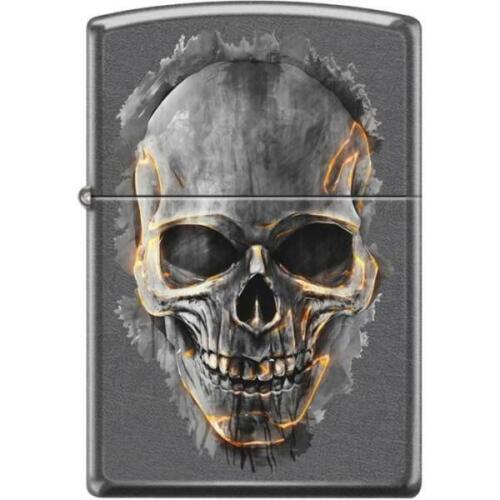 Zippo Lighter - Skull Gray Dusk - 854467