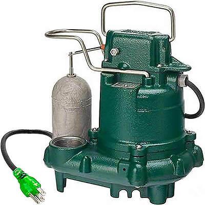 Zoeller M63 - 310 Hp Premium Cast Iron Submersible Sump Pump W Vertical Flo...