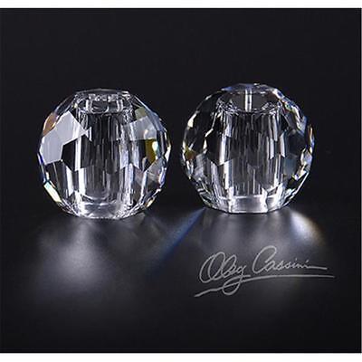 2er Set JACKIE Salz- & Pfefferstreuer, H. 5,0 cm, Kristallglas, rund