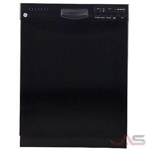 Lave-vaisselle Noir avec cuve stainless GE Neuf Seulement 399 $