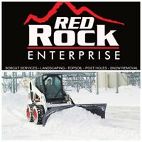 Red Rock Enterprise - Snow Removal