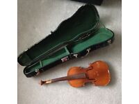Violin spares repairs with case