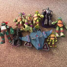 Bundle of Teenage Mutant Ninja Turtles Figures