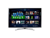 "Samsung 46"" LED 3D Smart TV + Bracket + DVD Surround system"