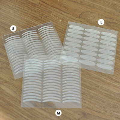 480pcs Invisible Fiber Double Side Adhesive Eyelid Stickers Technical Eye Tapes