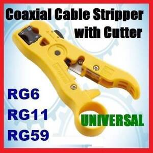 Universal Stripping & Cutter Tool (HT-352)for RG6, RG59, RG7/RG11 Mays Hill Parramatta Area Preview