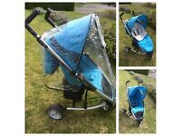 Petite Star in good clean used condition, comes complete with rain cover foot muff and shopping net