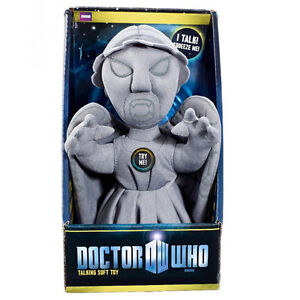 DOCTOR WHO WEEPING ANGEL TALKING PLUSH  -  BR