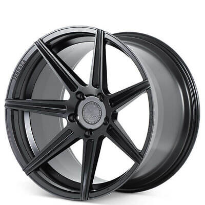 4ea 20x9/20x10 Ferrada Wheels F8FR7 Matte Black Rims Fit Maserati(S2)