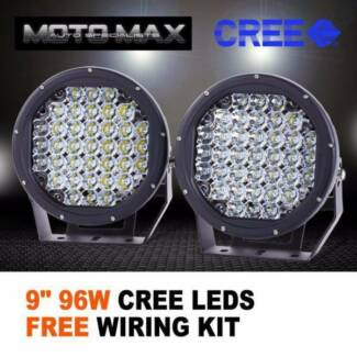 Wiring rules gumtree australia free local classifieds pair driving lights 9 inch 96w led black cree round spotlights fandeluxe Gallery