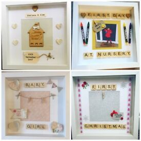 Personalised Photo Frames 3D Box Frame