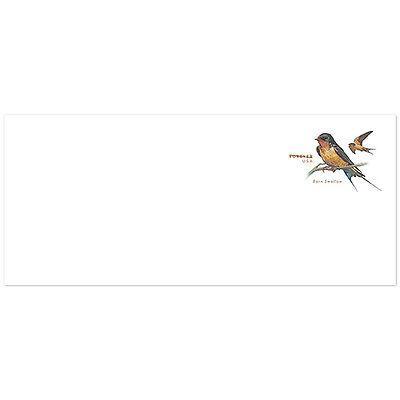 USPS New Barn Swallow #10 Regular PSA Envelope pack of 5