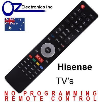 Hisense EN-33926A Remote Compatible 3D LCD LED & HD TV Replacement