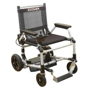 ZOOMER Folding Powered Chair with Joystick Control - 52 lbs with battery - available at My Scooter