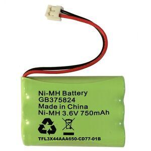 motorola mbp30 baby monitor rechargeable battery pack 3 6v 750mah nimh ebay. Black Bedroom Furniture Sets. Home Design Ideas