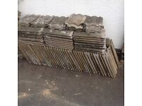 Roofing Tiles. Redland Renown used concrete tiles