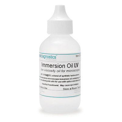 Low Viscosity Immersion Oil 2oz 3 Pk