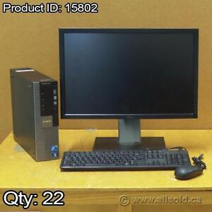 "Dell Optiplex Windows 7 PC + Dell 22"" Widescreen Monitor Bundle"
