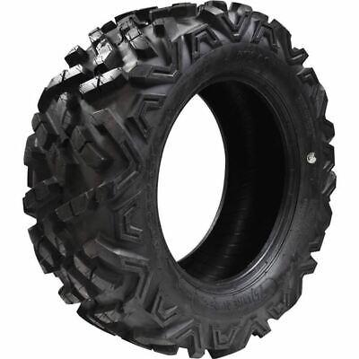 4 WANDA ATV tires 25x8-12 Front /& Rear for 2017 Yamaha KODIAK 700 Deep Tread Mud