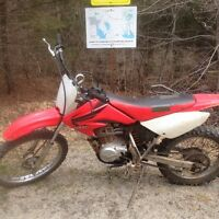 2007 Honda CRF 100F with papers