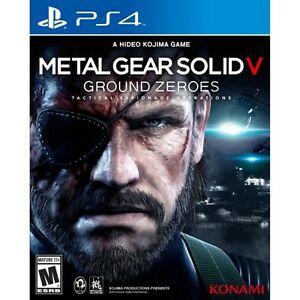 LOOKING FOR GROUND ZEROES PS4