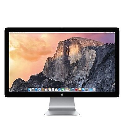 "Apple Thunderbolt A1407 MC914LL/A 27"" Widescreen LCD Monitor, built-in Speakers"