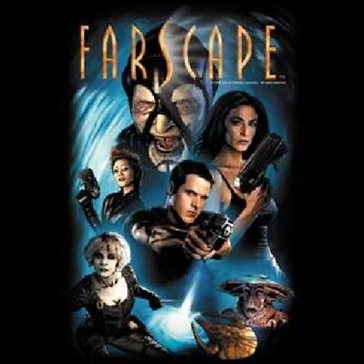 Farscape TV Series Comic #1 Cover Cast Adult T-Shirt Size Large UNWORN