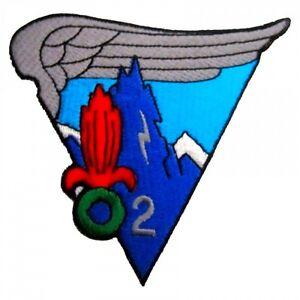 Ecusson / Patch 2eme REP 2eme Compagnie (Régiment Etranger Parachutistes)