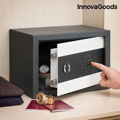Caja Fuerte de acero de seguridad electronica digital, llaves, pilas,35x25x25 cm