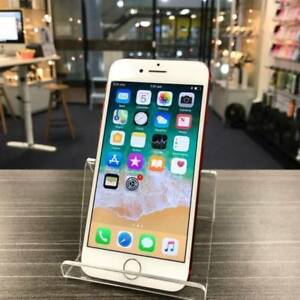 GOOD CONDITION IPHONE 7 128GB RED UNLOCKED WARRANTY INVOICE