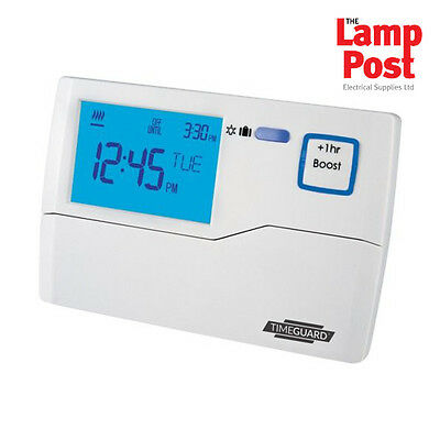 Timeguard TRT034 7 Day Digital Central Heating Electronic Programmer 1 Channel 1 Day Electronic Programmable Thermostat