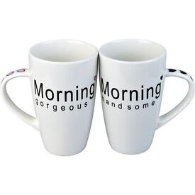 Set of two matching mugs - perfect condition
