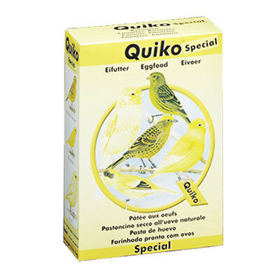 Pet Bird Supplement Food Treat with Eggs for Canary & White Bids - 1 KG QUIKO