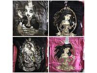 Wholesale job lot women's tshirts goth Alternative clothing