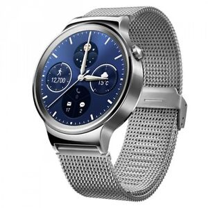 Huawei Watch Stainless Steel Mesh Strap Silver (New-Open Box)
