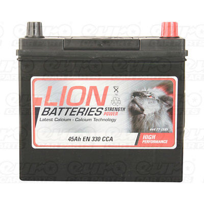 MF54523 158 Car Battery 3 Years Warranty 45Ah 330cca 12V Electrical By Lion