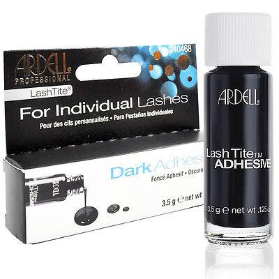 Ardell LashTite Individual False Lash/Eyelashes Adhesive Glue Dark Salon Look